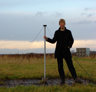 A LOFAR antenna and me